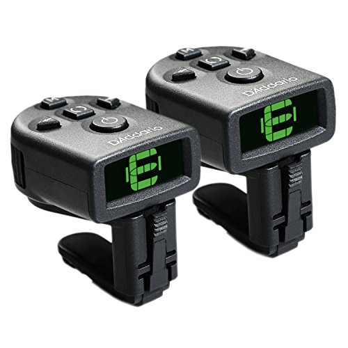 d addario ns micro clip on tuner 2 pack flash sashom. Black Bedroom Furniture Sets. Home Design Ideas